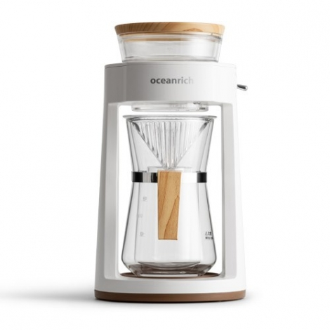 Rotated Pour Over Coffee Maker